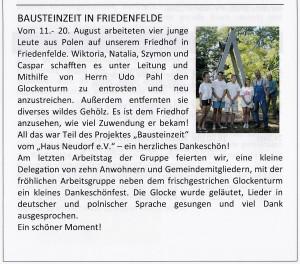 Gemeindebrief 2015