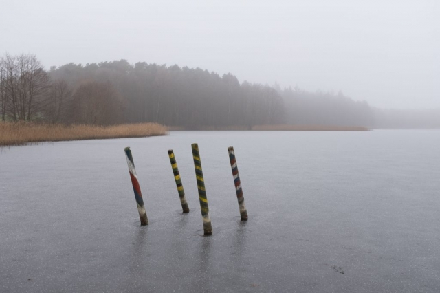 Der Stiernsee im Winter (Haus Neudorf)