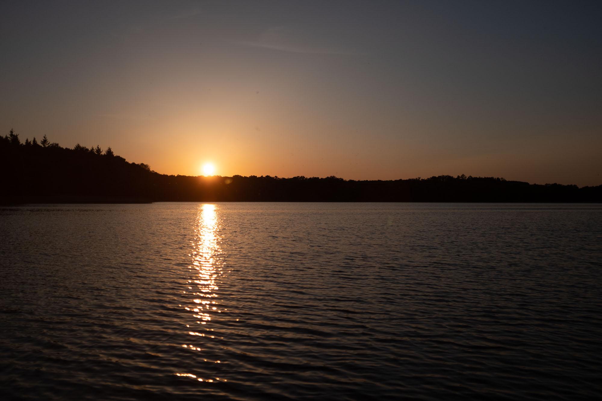Der Stiernsee im Sonnenuntergang